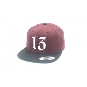 Gorra basic 13 Granate